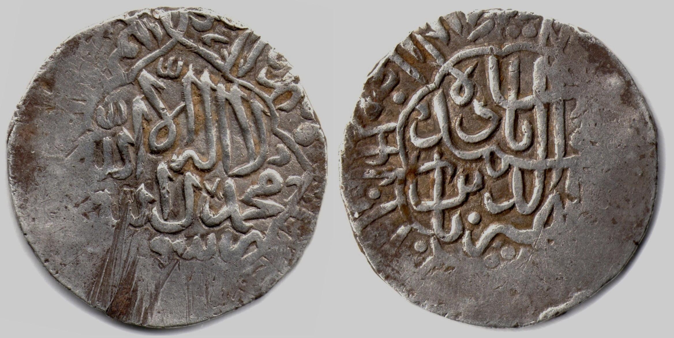 Timurid, AR shahrukhi, Zahir al-din Babur