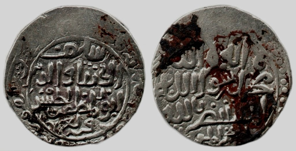 Qarlughid, AR tanga, Sayf Al-Din Al-Hasan Qarlugh, Ghazna