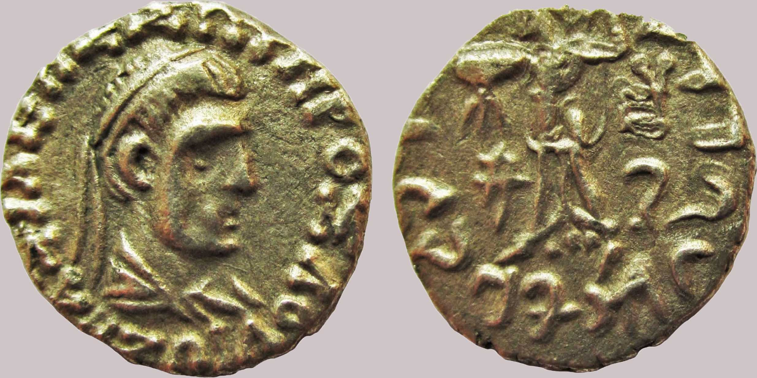 Indo-Greek Kingdoms, AR drachm, Zoilos II