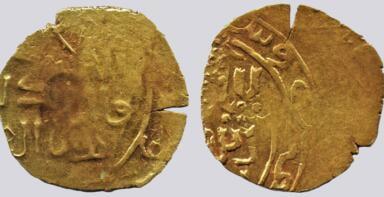 Great Mongols, AV dinar, temp. Möngke Khan, Merw