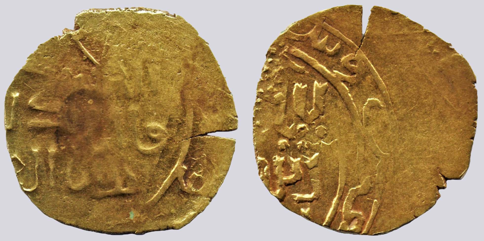 Great Mongols, AV dinar, temp. Möngke Khan, Merw