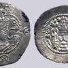 Western Turks, AR drachm, Bactrian Yabghus, RARE
