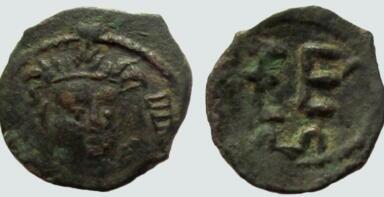 Kidarites, AE unit, Kidara, 350-385AD