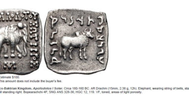 Indo-Greek Kingdoms, AR drachm, Apollodotos I
