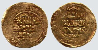 Great Mongols, AV dinar, temp. Chingiz Khan, Badakhshan