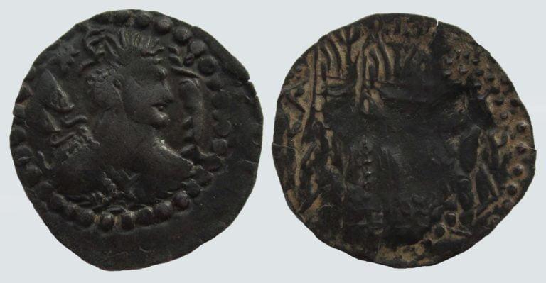 Western Turks, AE drachm, Alkhan-Nezak, Type 232