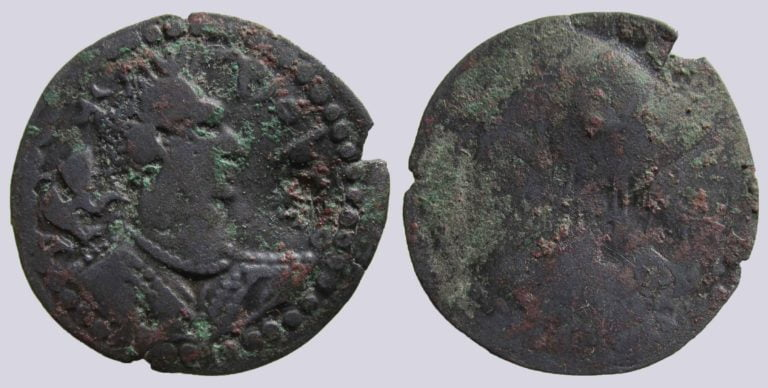 Western Turks, BI drachm, Sri Shahi, Type 236