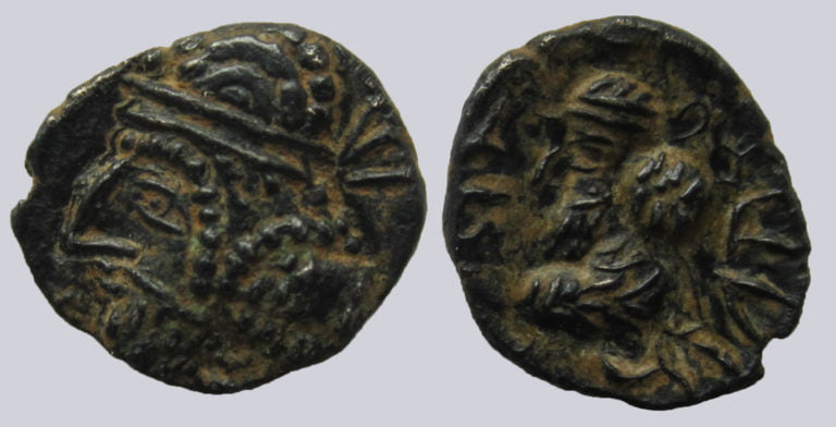 Persis, AR obol, Vadfradad / Autophradates IV, 120AD
