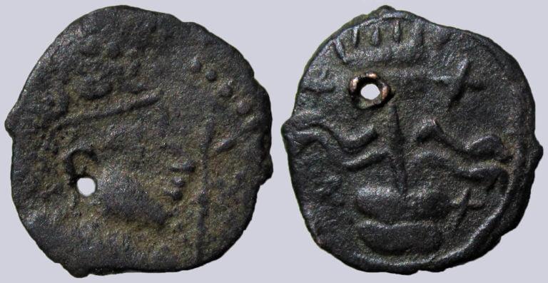 Turk Shahi Kings, AE unit, Sri Sahi, imitation w. Pennant