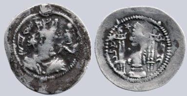 Sasanians, AR drachm, Zamasp / Djamasp, AS, RY 2
