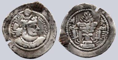 Sasanians, AR drachm, Varhran / Bahram V, BBA
