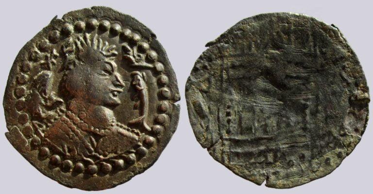 Western Turks, BI drachm, Alkhan-Nezak Crossover, Type 232