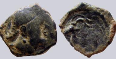 Hunnic Tribes, AE unit, Indo-Greek Influence