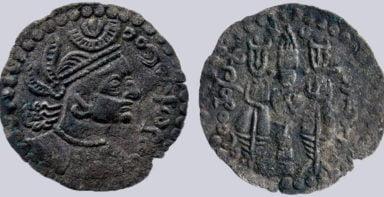 Western Turks, BI drachm, Tegin of Khorasan, Type 240