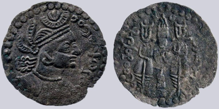 Western Turks, BI drachm, Tegin of Khorasan, Type 240