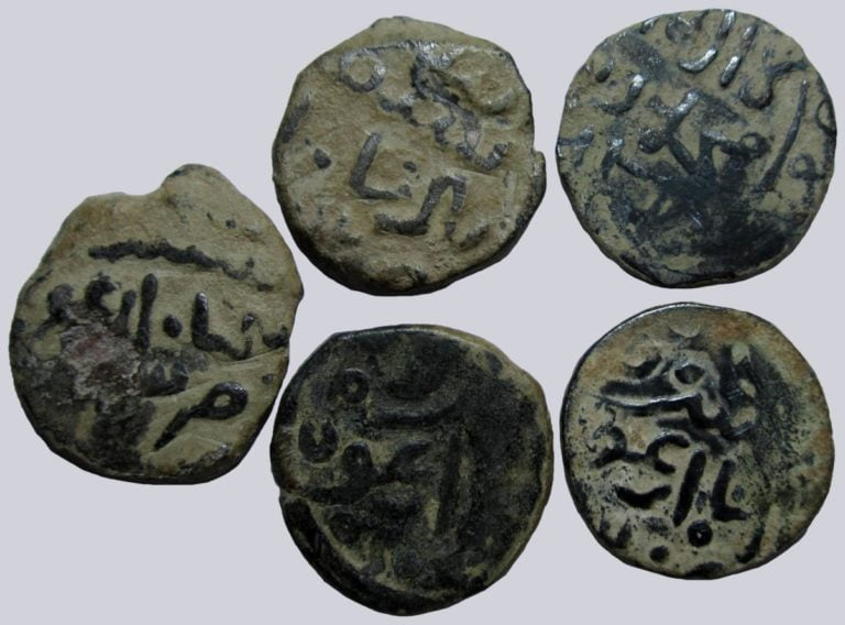 Ilkhans, Arghun Khan, lot of AE jitals, Shafurqan / Herat / Balkh