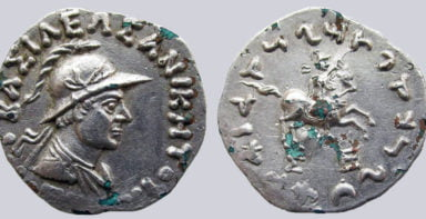 Indo-Greek Kingdoms, AR tetradrachm, Philoxenos
