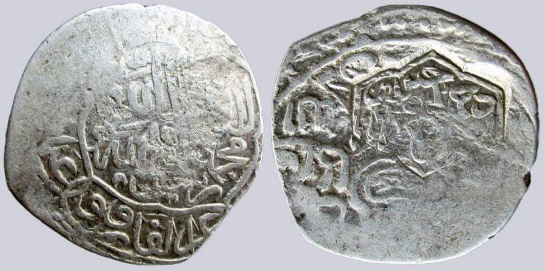 Timurid, AR tanga, c/m Badi' al-Zaman