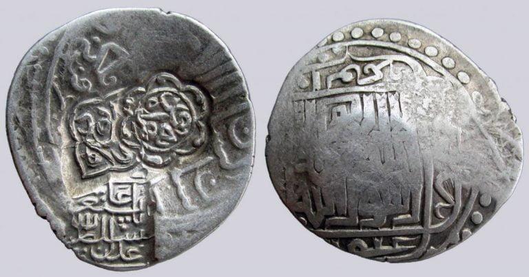 Timurid, AR tanga, c/m Baysunghur