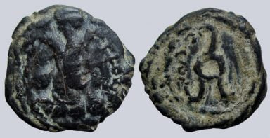 Alchon Huns, AE unit, Anonymous Clan Ruler, Type 35