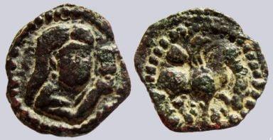 Hunnic Tribes, AE unit, Principality of Nakhsheb