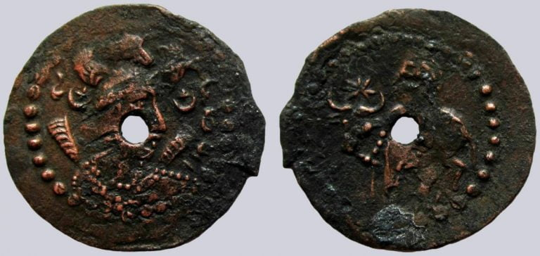Western Turks, AR ½ drachm, Later Nezak, Type 270