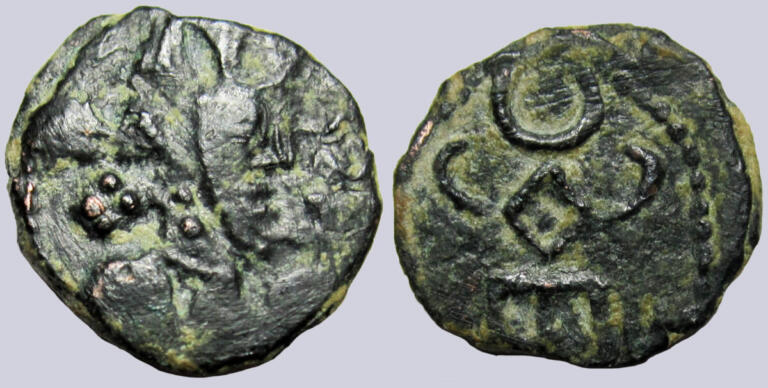 Alchon Huns, AE unit, Anonymous Clan Ruler, Type 37B