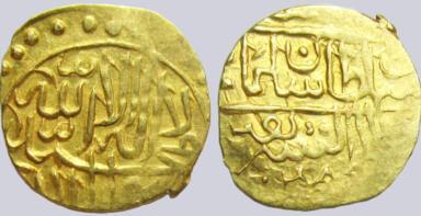 Timurid, AV 1/12 Indian mohur, Sulayman Mirza, Badakhshan